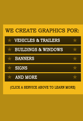 We Install Vinyl Graphics On Vehicles Storefronts Signs and More